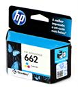 Cartucho HP662 Colorido CZ104AB, para Multifuncional HP Deskjet Ink Advantage 1015 1515 1516 2515 2516 2545 2546 2645 2646 3515 3516 3545 3546 4646