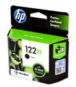 Cartucho HP122XL Preto CH563HB, para as impressoras 1000 1050 1055 2000 2050 2540 3000 3050 3050A