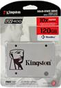 HD Estado Sólido Kingston SSD Plus 120GB Sata3 SUV400S37
