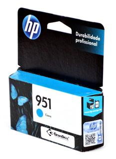 Cartucho Original HP 951 Azul CN050AB
