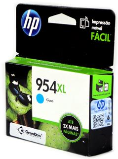 Cartucho Original HP 954XL Azul