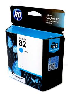 Cartucho Original HP 82 Azul C4911AB