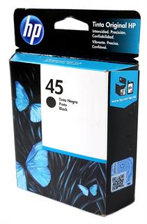 Cartucho Original HP 45 Preto 51645AL