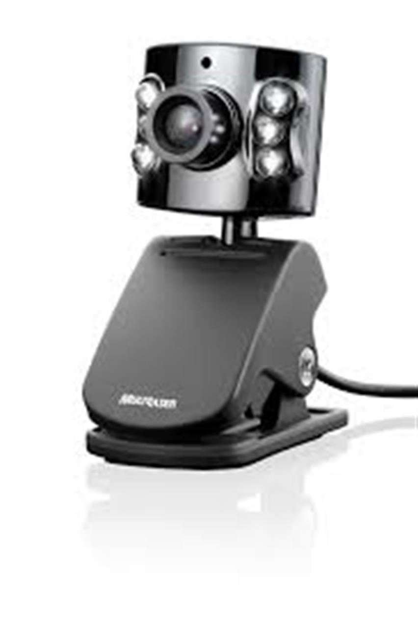 Webcam 1.3mp com Microfone Usb Multilaser WC040
