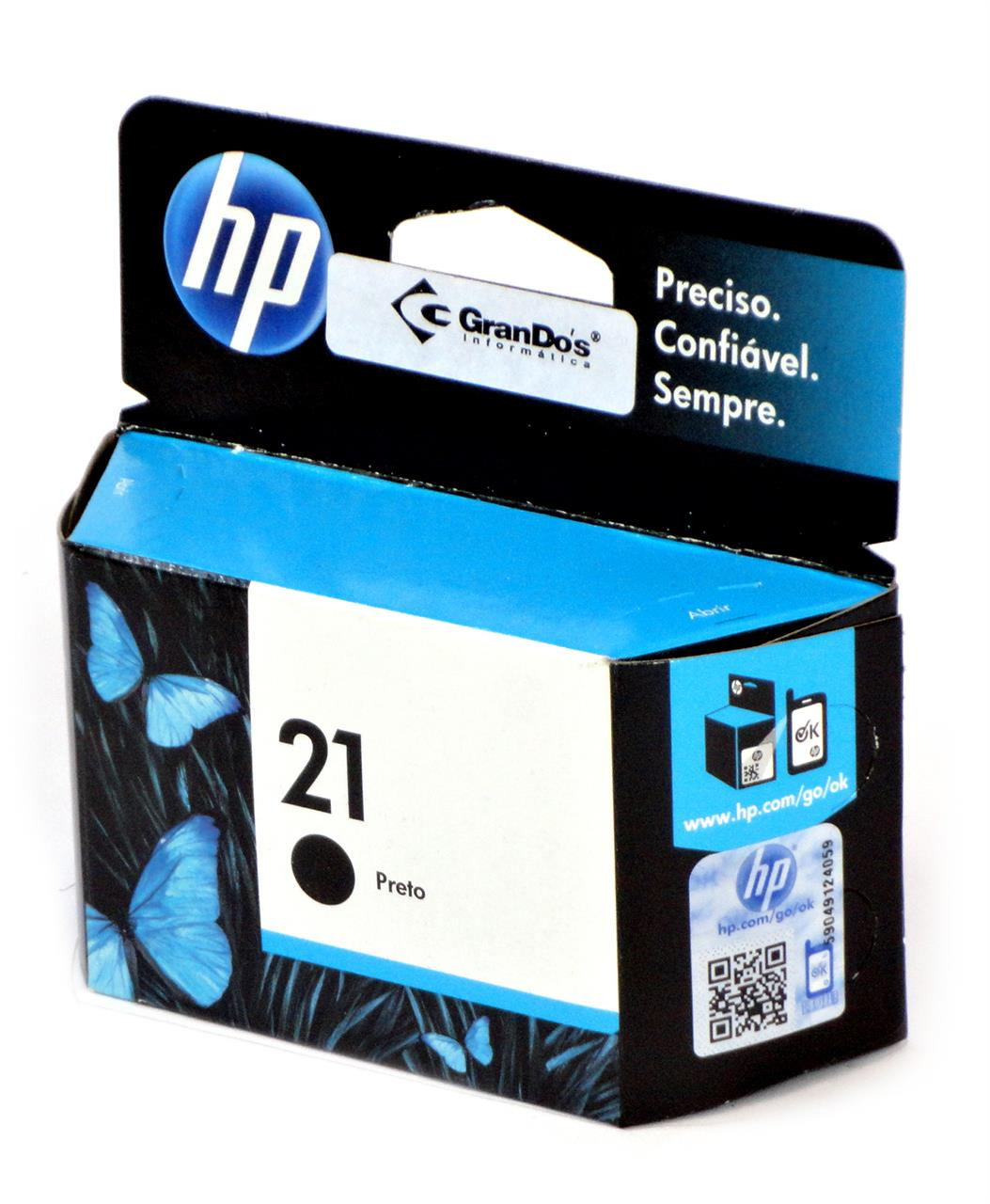 Cartucho Original HP 21 Preto C9351AB