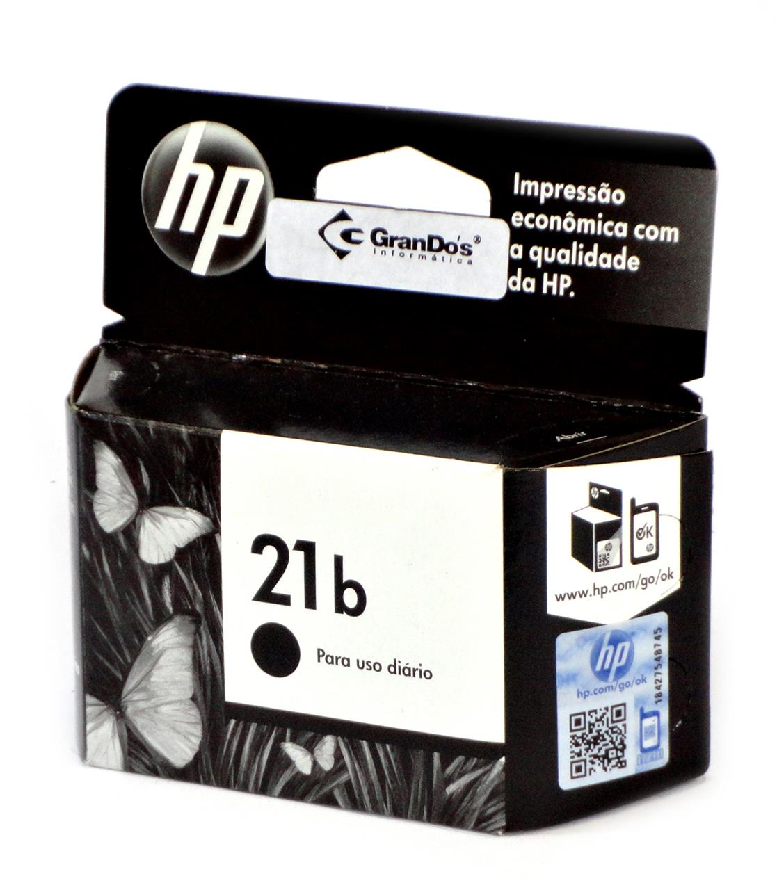 Cartucho Original HP 21b Every Day Preto C9351