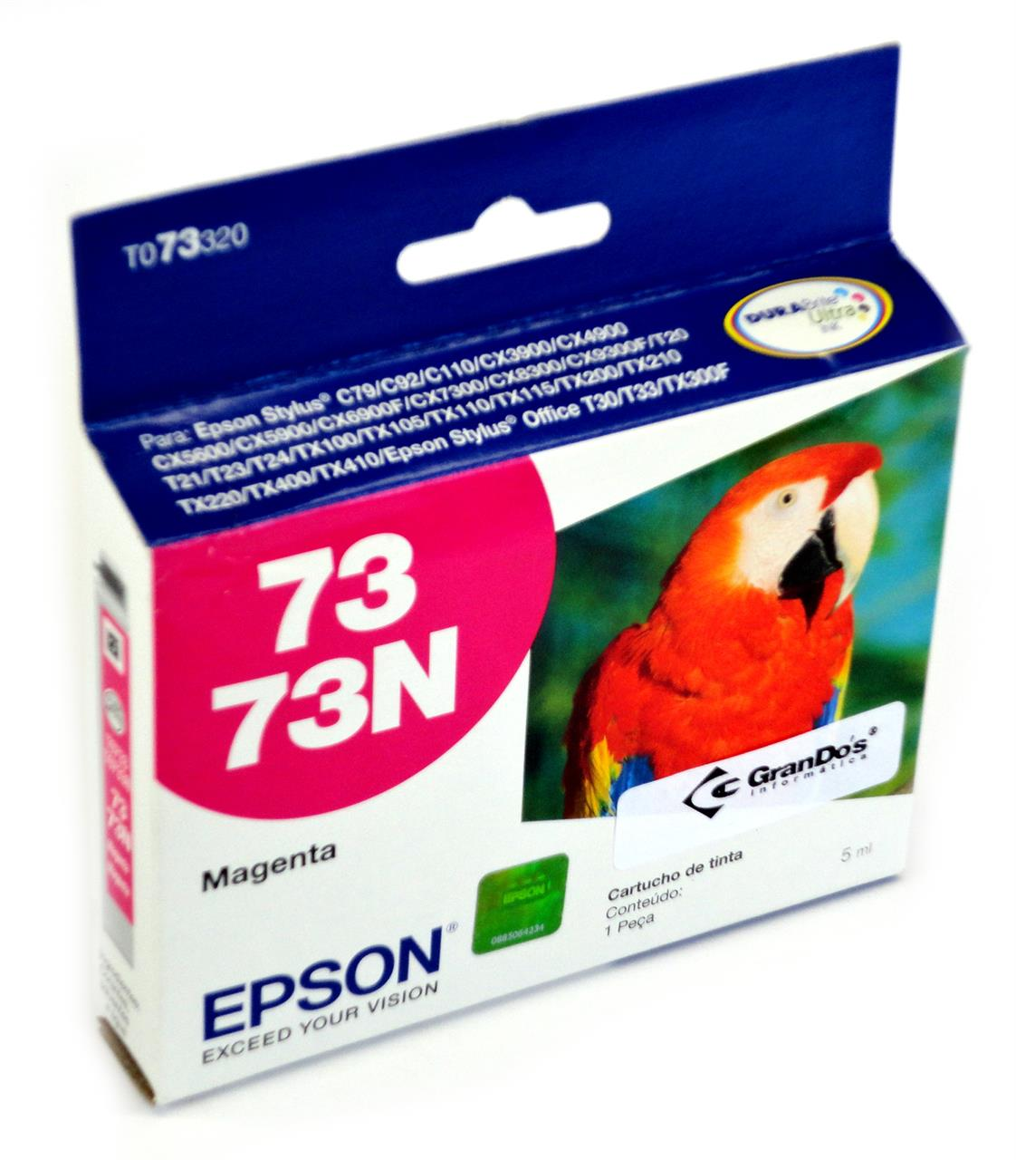 Cartucho Original Epson 73N Magenta TO73320