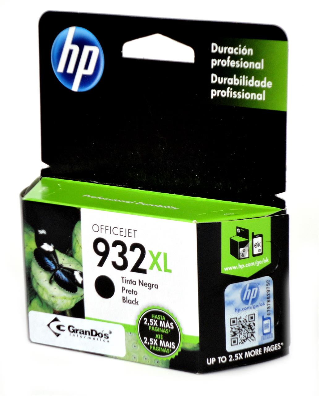 Cartucho Original HP 932XL Preto CN053AL