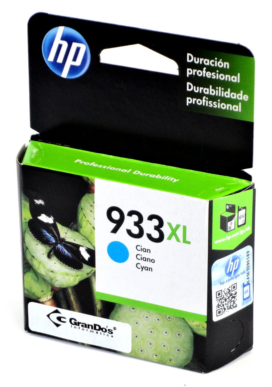 Cartucho Original HP 933XL Azul CN054AL