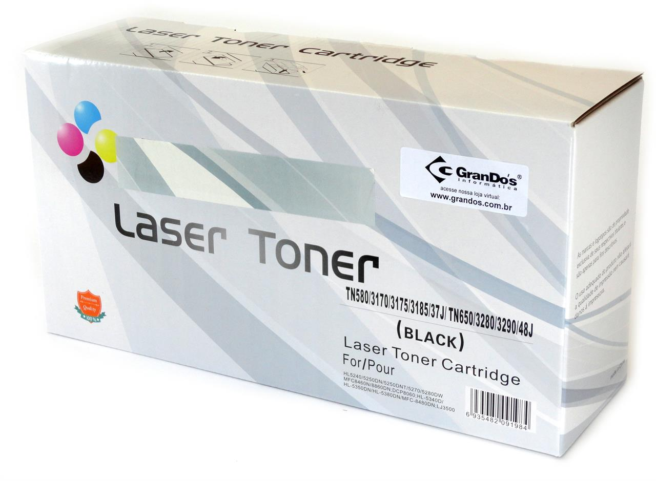 Toner Compatível Brother TN580 TN650 Genérico