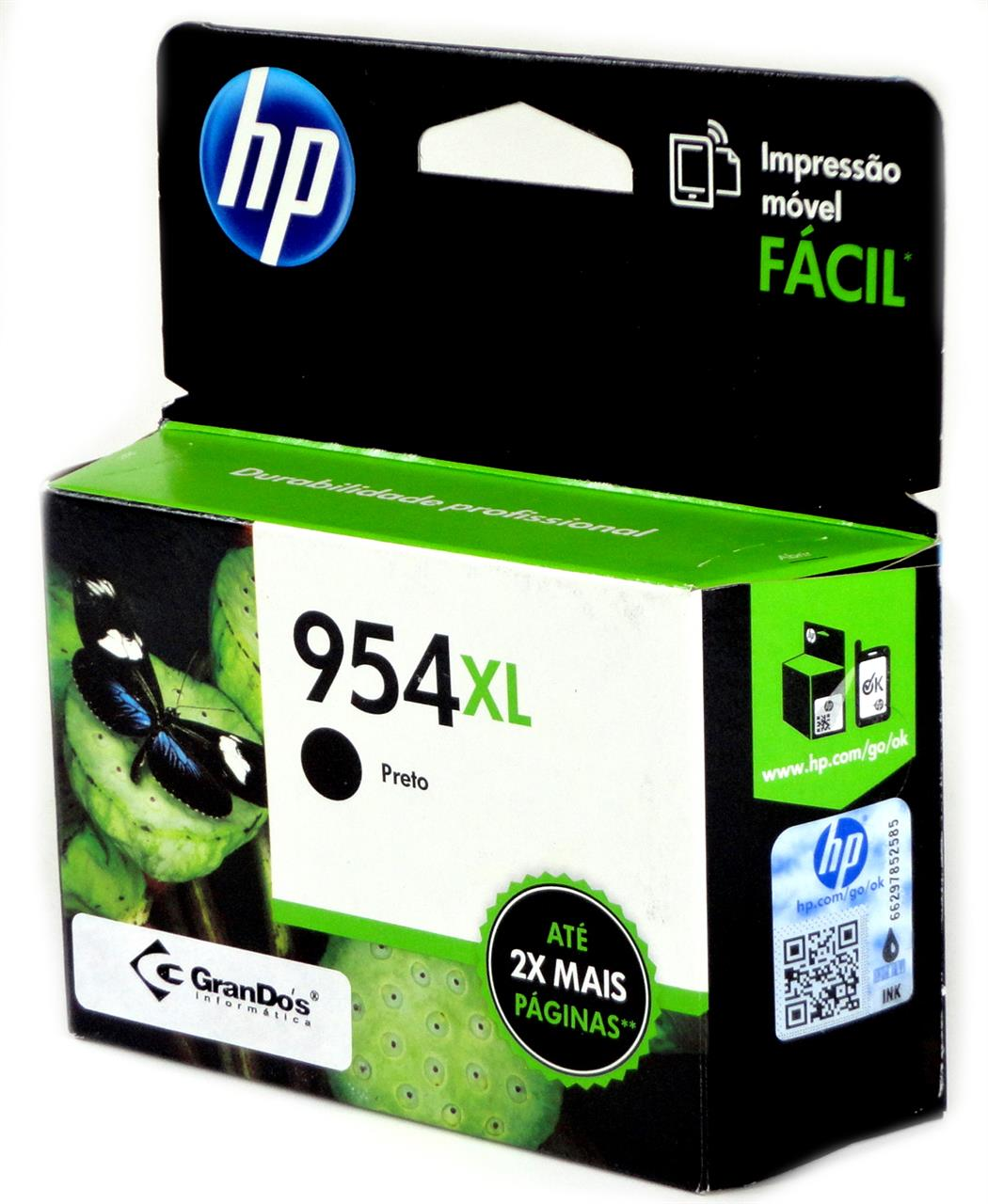 Cartucho Original HP 954XL Preto