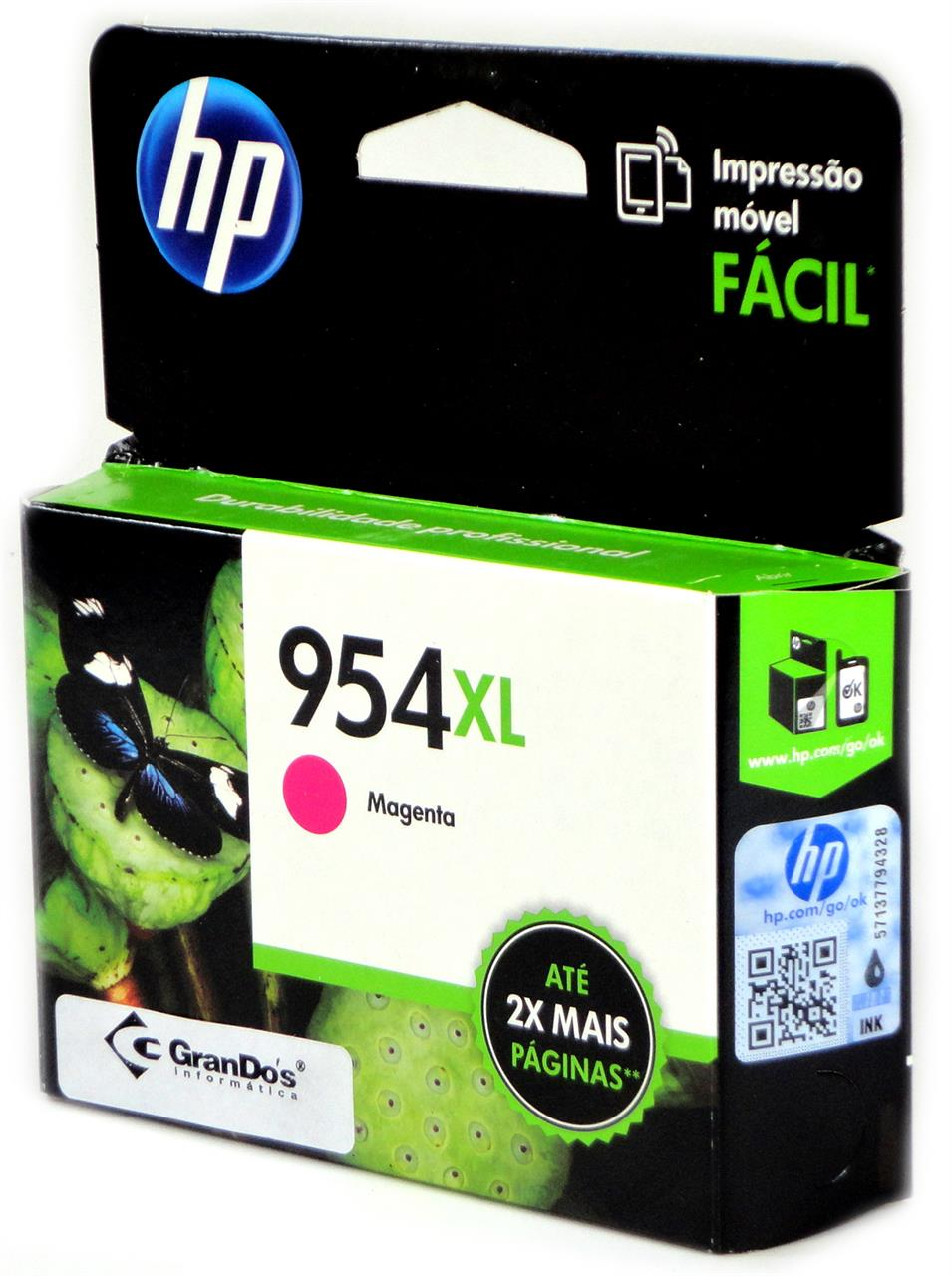 Cartucho Original HP 954XL Magenta