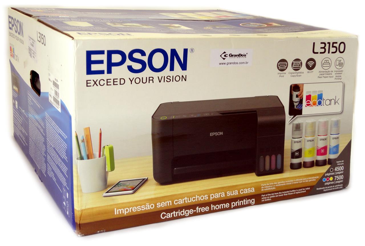 Epson L3150 Setup