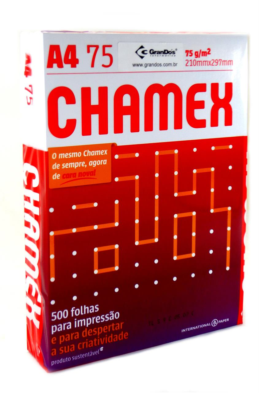 Papel Sulfite Chamex