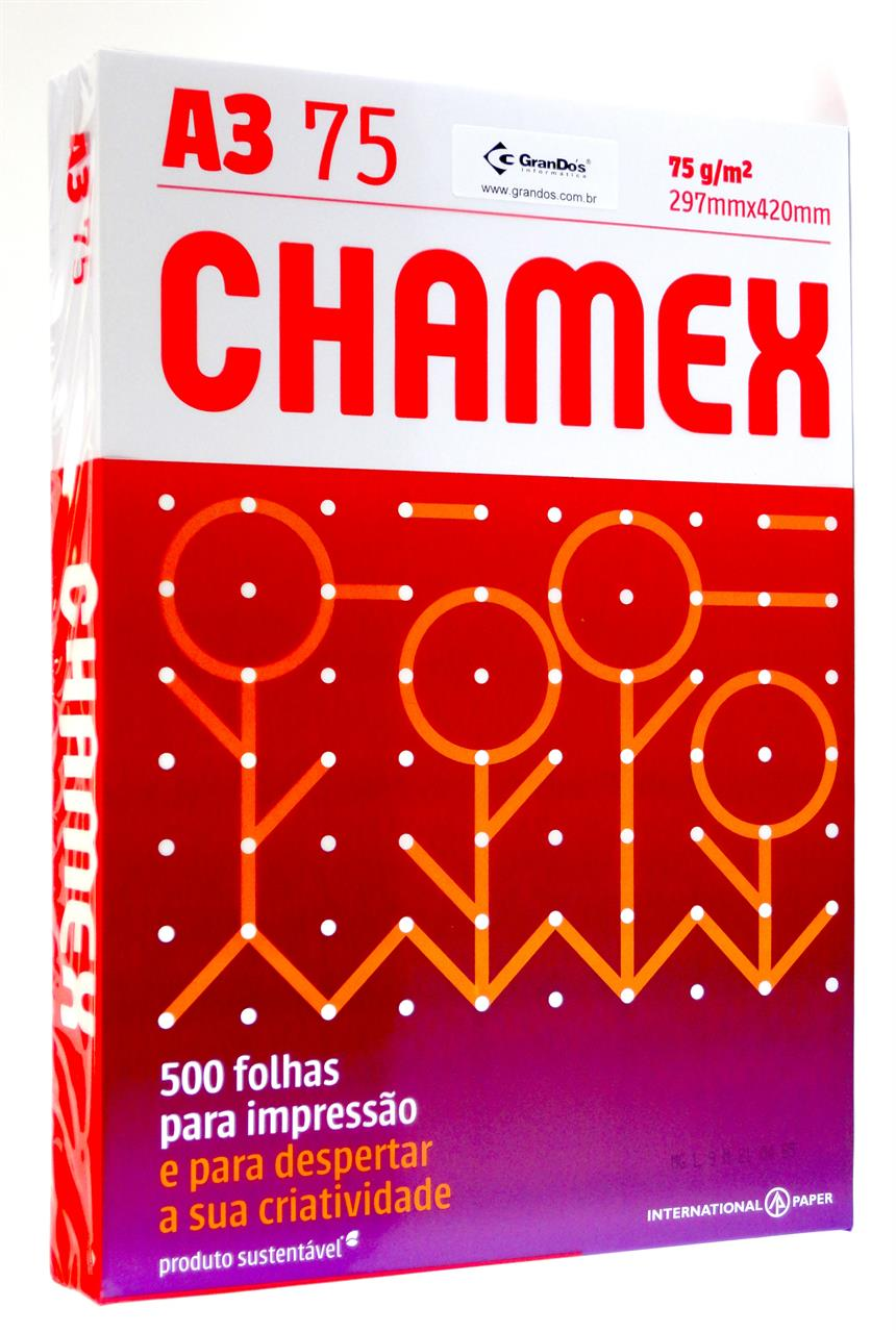 Papel Sulfite A3 Chamex
