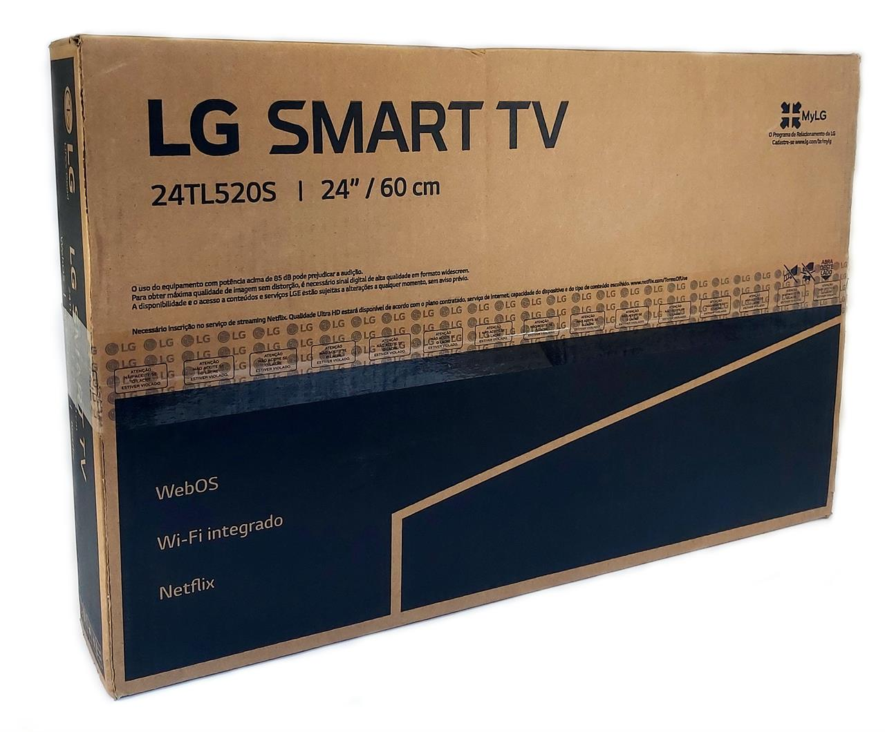 "Smart TV 24"" LED LG"