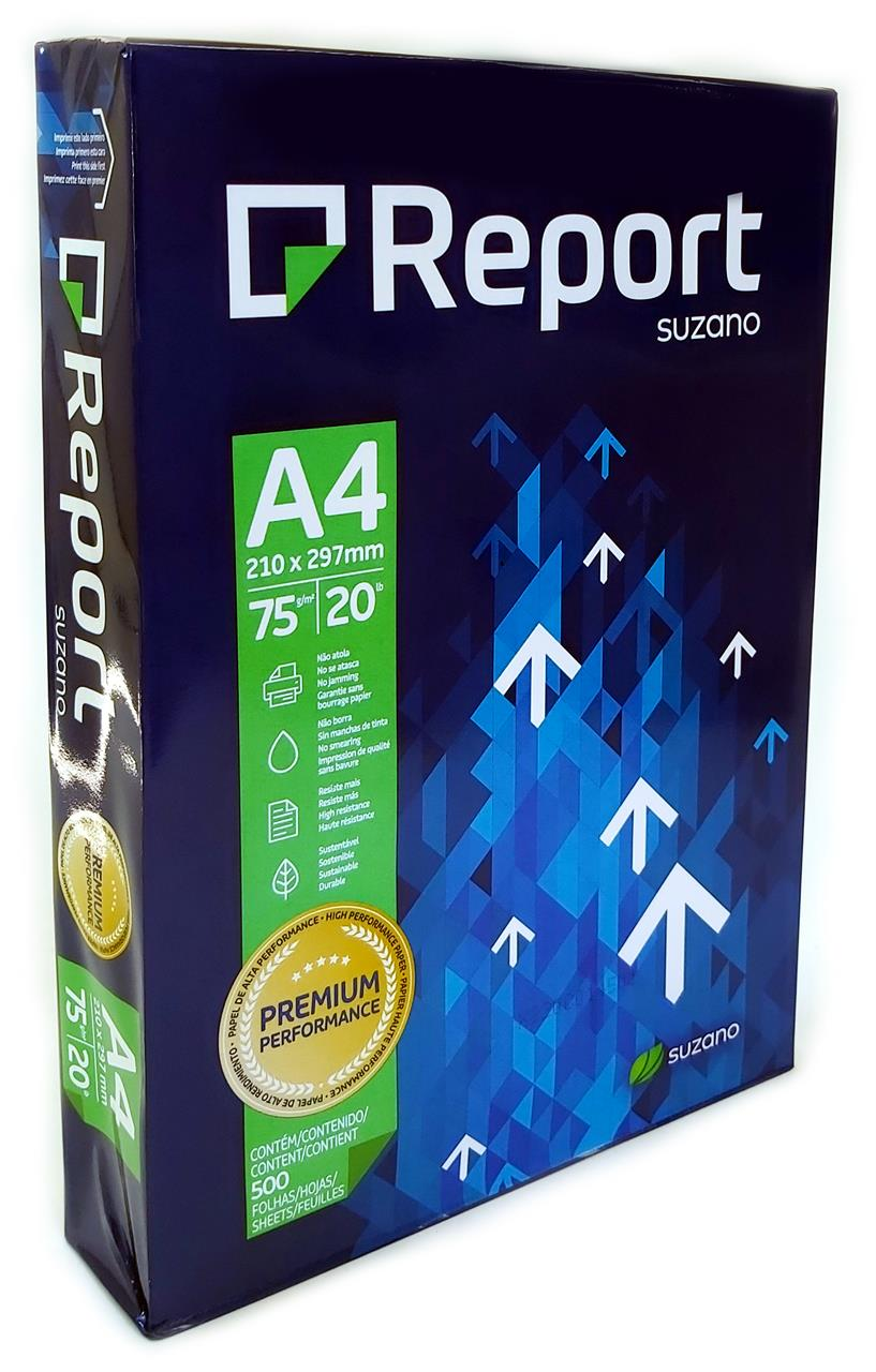Papel Sulfite A4 Report
